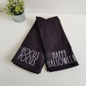 Rae Dunn Halloween Kitchen Towels